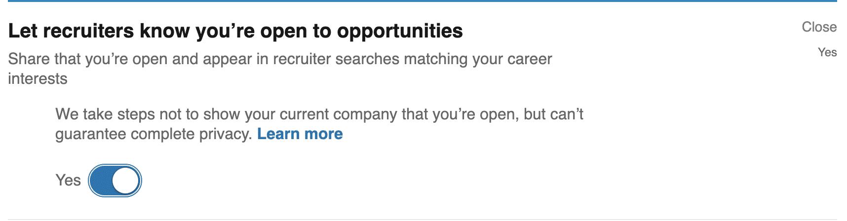 LinkedIn resume upload