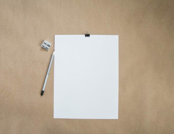 White resume paper