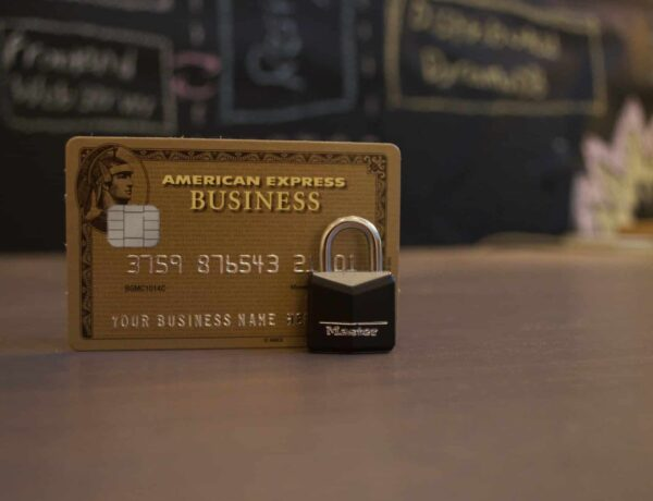 American Express Gold corporate credit card information