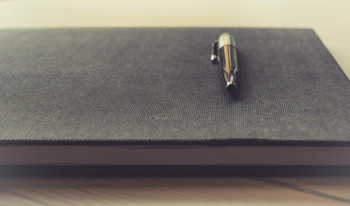 Skip level meeting agenda notebook