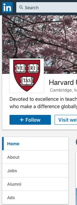 Network with Alumni on LinkedIn