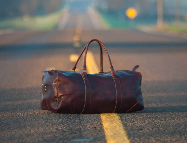 Best Brown Leather Suitcases