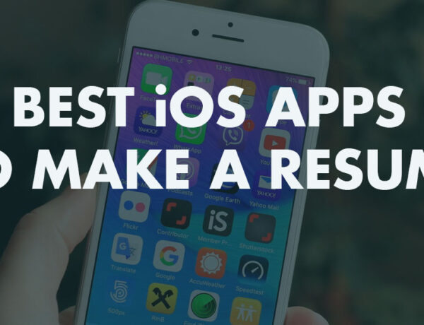 Best iOS Apps to Make a Resume